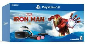 NEW Sony PlayStation 4 / 5 VR Marvel's Iron Man PS4 PS5 Bundle w/ Move + Camera