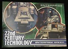 Star Trek Enterprise Season 1 - Set T1-9 - 22nd Century Technology - Chase Cards