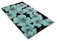 Serviettes, draps et gants de salle de bain bleu 100x180 cm