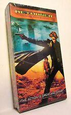 RETURNER (VHS, 2004) Takeshi Kaneshiro Goro Kishitana Anne Suzuki NEW SEALED