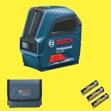 Bosch Kreuzlinienlaser GLL 2-10 Professional mit 3x AA Batterien Linienlaser