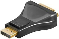 DisplayPort/DVI-D adapter 1.1 black DisplayPort male to DVI-I Dual-Link 24+5 pin