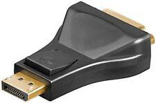 DisplayPort/DVI-D adapter 1.1 black DisplayPort male to DVI-I Dual-Link 24+5 pin
