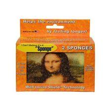 I Can't Believe It's a Sponge Mona Lisa & Starry Night Scrubber Sponge -  2pk