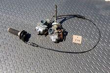 1987-2006 Yamaha Banshee carbs carburators TORS REMOVED & twist throttle setup
