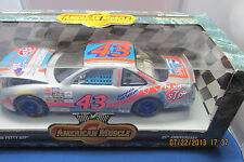 1996 ERTL American Muscle Bobby Hamilton #43 STP Silver  25th Annivresary