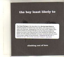 (DU16) The Boy Least Likely To, Climbing Out Of Love  - 2013 DJ CD