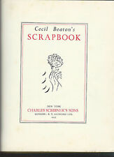Cecil beaton's scrapbook 1937 1st hc no dj oversize amazing details of the era