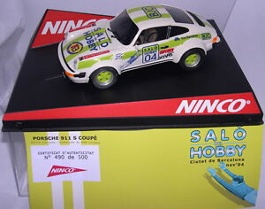 """Ninco 50354 Porsche 911 Sc """" Quality of The Hobby """" Barcelona 2004 Lted. Ed. 500"""