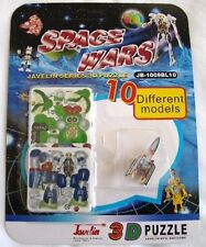 10 pcs Space Wars Mini Educational 3D Puzzle Great Kid's Brain Storm Games Toy
