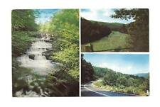 SOUTH WORTHINGTON MA Berkshires on Route 112 Postcard