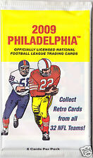 3-Pack Lot UD 2009 PHILADELPHIA NFL Trading Cards ROOKIES? STARS? Free SHIPPING