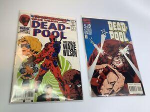 DEAD-POOL #1, #2 Flashback Wade Wilson X-Men Juggernaut