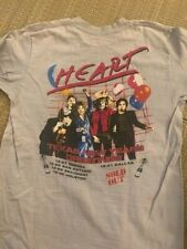 """New listing Vintage 80s Heart band """"Texas new year's greetings"""" shirt"""