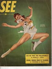 1947 SEE January - Did we free the Philippines? Make up artists; China is WWIII