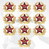 KOKARDA RUSSIA RED ARMY / SOVIET ARMY / Star, Hat, Pin, Badge (10pc)