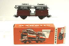 Märklin 4613 Autotransportwagen der DB mit 4 grauen 17m Ford, Top!, OVP