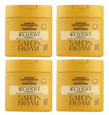 4x Charles Worthington Takeaways Blonde Colour Enhancer Shampoo 75ml