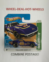 🔸Hot Wheels (2012) Treasure Hunts - 69' Corvette - Short Card - MOC!🔸