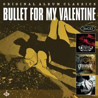 BULLET FOR MY VALENTINE - ORIGINAL ALBUM CLASSICS 3 CD NEW