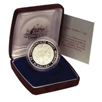 1982 XII Commonwealth Games RAM Proof Silver $10 Coin in Presentation Case