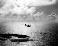 U.S. Navy Consolidated PBY-5A Catalina on Patrol 8x10 WWII WW2 Photo 722