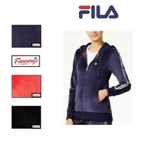NEW! Women's Fila Colorblock Velour Track Jacket VARIETY Size & Color! SALE! A33