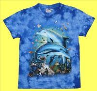 T-Shirt Delfine Gr. 86*92* 98*104*110*116*122*128*134*140*146*152, Delfin Urlaub