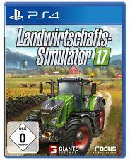 PS4 Jeu FARMING-SIMULATOR 17 AGRICULTURE SIMULATOR 2017 PRODUIT NEUF