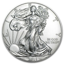 2015 Silver American Eagle Brilliant Uncirculated MintDirect Coin 1 Troy oz.