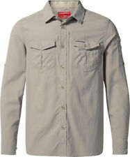 Craghoppers Mens NosiLife Adventure II Long Sleeved Shirt