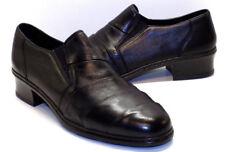 RIEKER Anti-Stress Dana Black Leather Slip On Loafer Women's UK 7.5 US Size 9.5M