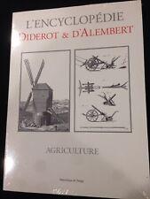 Diderot & D''Alembert L'ENCYCLOPEDIE - Agriculture Volume engravings/plates