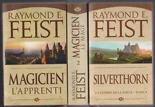 LA GUERRE DE LA FAILLE - MAGICIEN tomes 1 à 3 Feist Milady roman fantasy