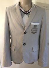 Designer Smart Boys Roberto Cavalli Jacket Size 10/154
