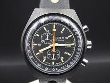 "K943⭐⭐ Vintage "" GGC "" PVD Meister Anker ? Handaufzug Chronograph Armbanduhr ⭐⭐"