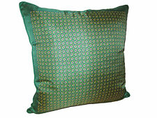 Ralph Lauren Home British Green Gentlemans Signature Silk Down Throw Pillow