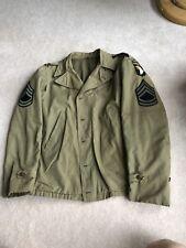Rare Original WW2 US 101st Airborne M41 Field Jacket