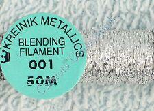 Kreinik 208066 Kreinik Blending Filament 1 Ply 50 Metres - 55 Yards Silver SI