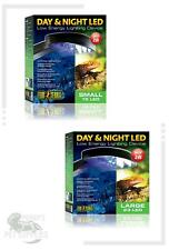 Exo Terra Day and Night LED Lighting Fixture - Small & Large Gecko Reptile Light