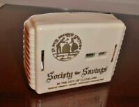 Vintage,1950's Bank.......Promo, Society for Savings......Cleveland Ohio....Nice