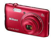 "NIKON COOLPIX A300 COMPACT DIGITAL CAMERA 20.1MP 8X ZOOM 2.7"" 20MP 720P WiFi R"