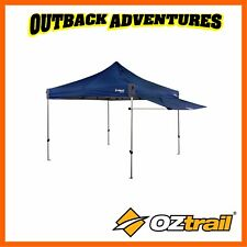 OZTRAIL GAZEBO REMOVABLE AWNING KIT FITS 3M GAZEBO -BLUE NEW MODEL