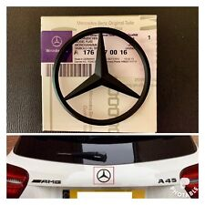 Mercedes-Benz A CLA Class Rear Boot Lid Badge Star - Matte Black A1768170016