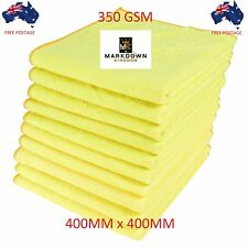 10x Microfibre Cleaning Cloth Towel Large Size Car Truck Home Thick & Ultrasoft