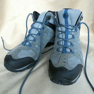 MERRELL Accentor Waterproof ANKLE BOOTS HIKING J342298C Gray/Blue ExUC Men's 9.5