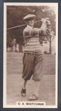 MILLHOFF-FAMOUS GOLFERS GOLF-#06- C. A. WHITCOMBE