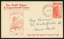 Mayfairstamps New Zealand 1971 Health Stamp Moera Cancel First Day Cover wwp7982