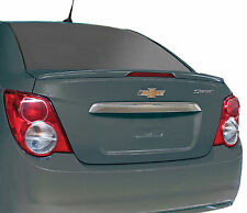 CHEVROLET SONIC FLUSHMOUNT FACTORY STYLE UNPAINTED REAR WING SPOILER 2012-2017