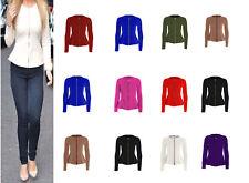 Womens Ladies Zip Peplum Ruffle Plus Size Tailored Blazer Jacket Top